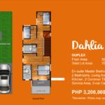 belize north house consolacion cebu Dahlia model2