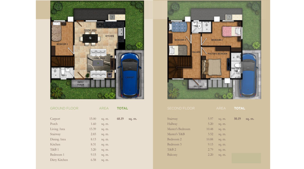 modena townsquare house and lot adagio floor