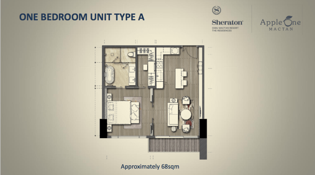 the residences at sheraton 1br type A