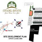 citadel estate DEVELOPMENT PLAN cotcot liloan