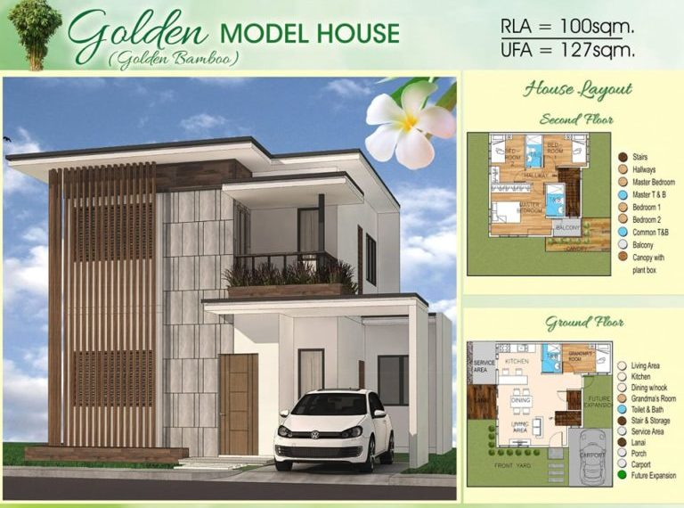 BAMBOO BAY RESIDENCES LILOAN PRE SELLING HOUSE AND LOT GOLDEN BAMBOO MODEL