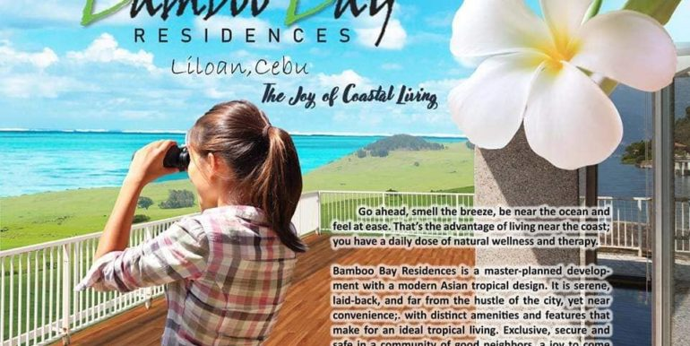 BAMBOO BAY RESIDENCES LILOAN PRE SELLING HOUSE AND LOT.VIEW