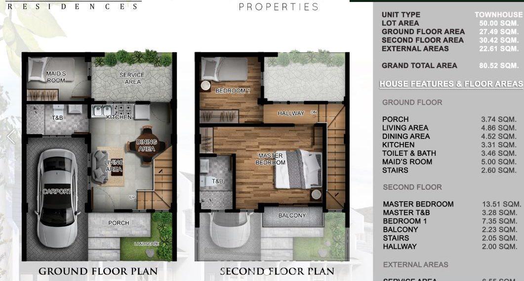 ESTELLE WOODS RESIDENCES talamban house and lot townhouse3