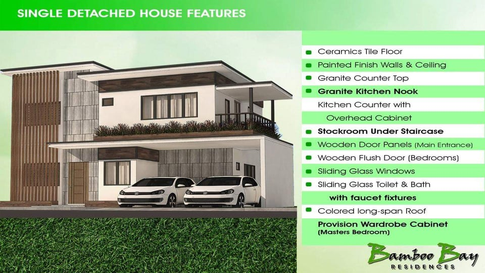 bamboo bay residences liloanHouse-Features