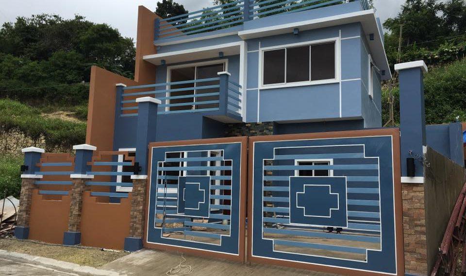 blue house ready for occupancy mandaue