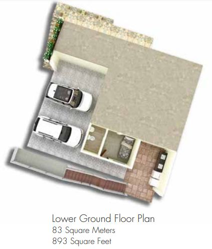 amonsagana retirement house balamban cebu MOONSTONE lower floor plan