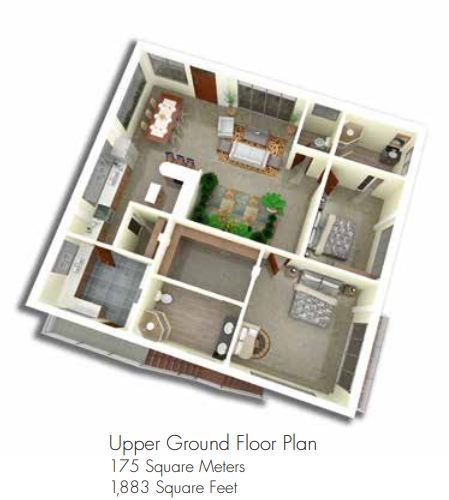 amonsagana retirement house balamban cebu MOONSTONE upper floor plan