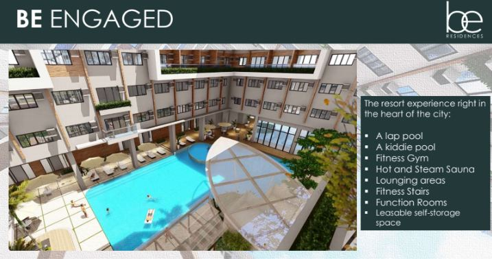 be residences Lahug cebu City amenities