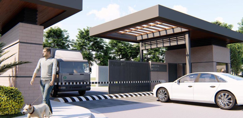 THE PRESTON house liloan cebu GATE & GUARD HOUSE 01