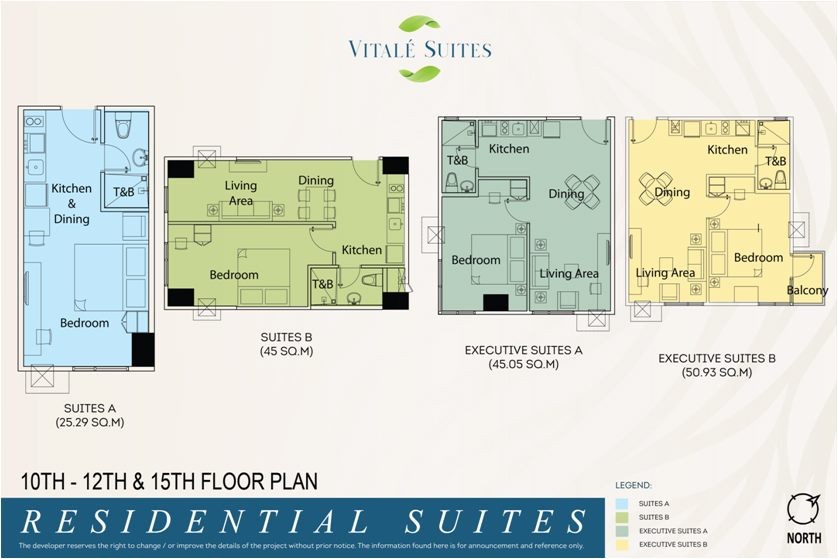 VITALE RESIDENTIAL SUITES 10TH-12TH & 15TH FLOOR