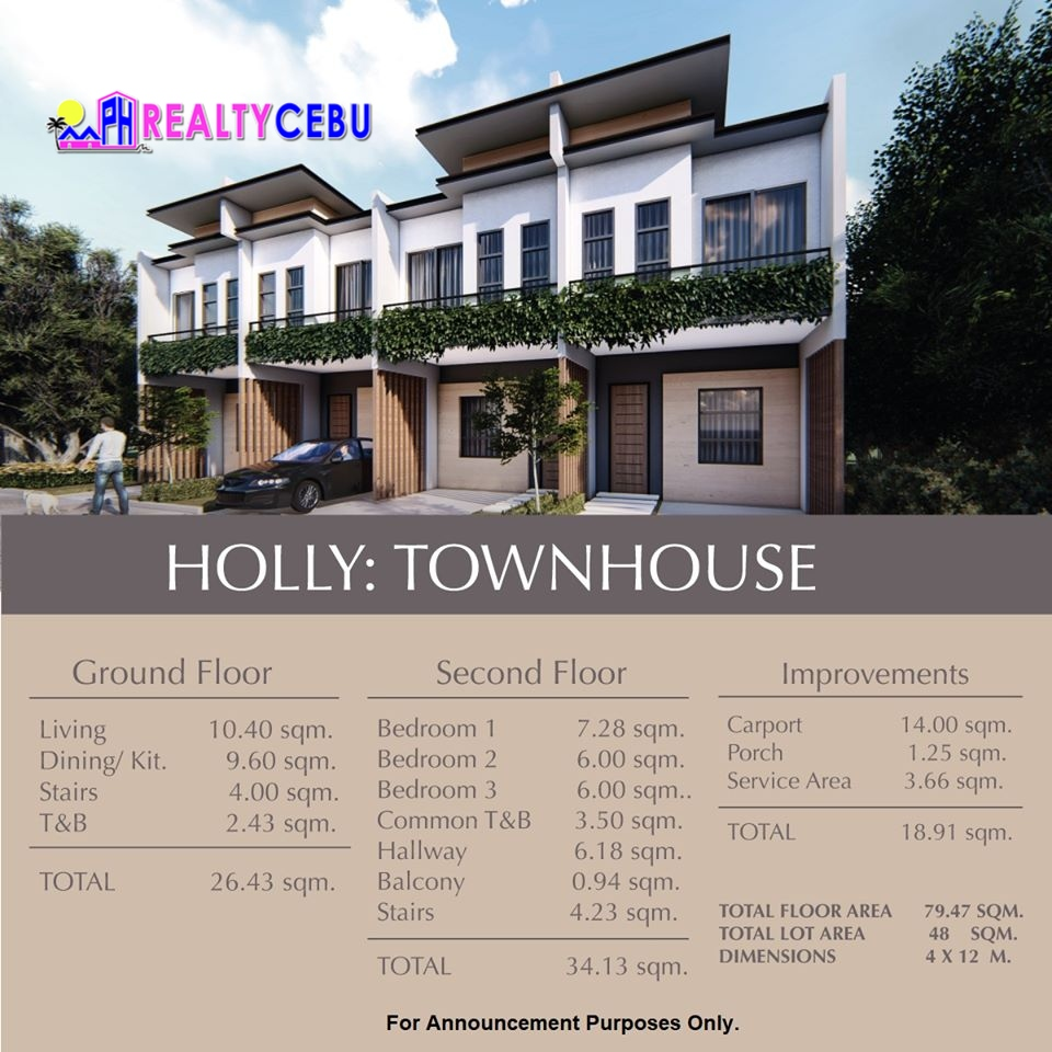 This image has an empty alt attribute; its file name is pre-selling-elkwood-homes-talisay-cebu-HOLLY-TOWNHOUSE-3.jpg