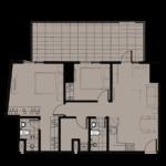 TAFT-EAST-GATE-2-Bedroom-EDGE-Unit-With-Garden