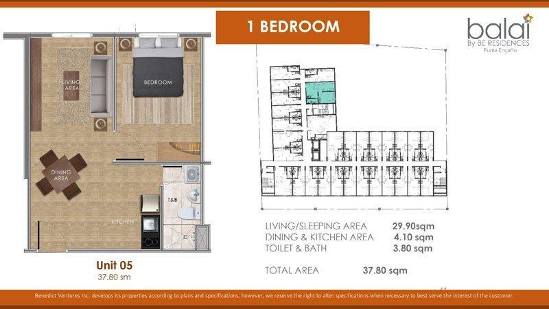 balai-be-residences-mactan-affordable-condo-1BEDROOM